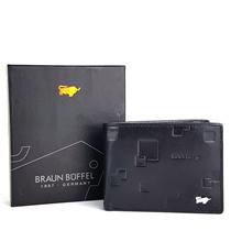Dompet Tidur Mini Kulit Asli Murah - BRAUN BUFFEL MINI US-6 BLACK