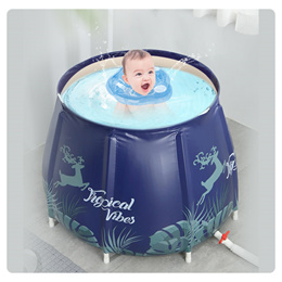 可折叠式泡澡桶/家用成人全身加厚沐浴桶/洗澡泡澡神器/婴儿游泳池