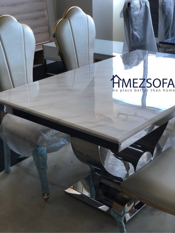 Marble Dining Table Set Coffee Table Side Table At Reasonable Price While Stocks Last