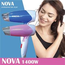 Nova Professional Hair Dryer 1400W Mini Foldable Travel