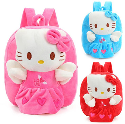 b63f58614b shop Wholesale and Retail Hello Kitty Toddler Kids Children Boy Girl  Cartoon Backpack Schoolbag Shou