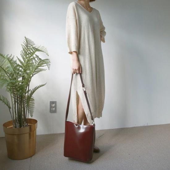 デイリー・マンデーSoft wool knit onepieceワンピース ニット・ワンピース/ 韓国ファッション