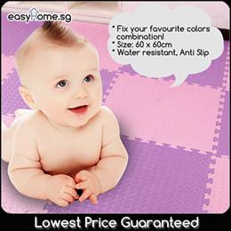 60 x 60cm Puzzle EVA Play Mat/Kids Baby Floor Mattress/Carpet/Playground Infant Jigsaws Child