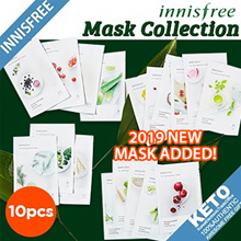 ▶1-DAY ONLY◀[Innisfree] New my real squeeze mask pack/Skin clinic/quick tone up/lifting