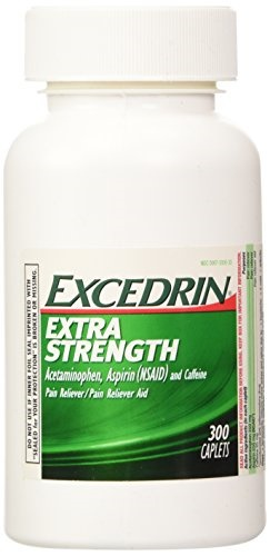 Excedrin Extra Strength Caplets, 300 Count