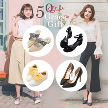 Gracegift-★CRAZY SALE★Best Seller Heels/Sandals/Sneakers/Flats/Women/Ladies Shoes/Taiwan Fashion