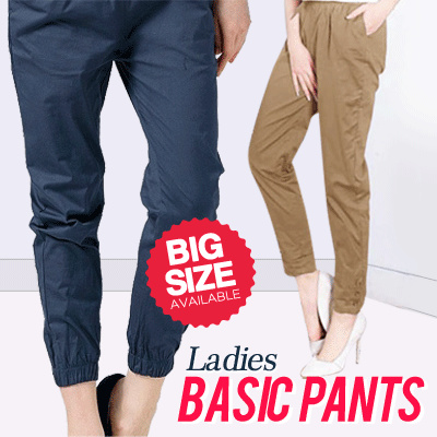 [FLAT PRICE] PLUS SIZE PANTS Deals for only Rp39.000 instead of Rp39.000