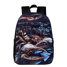 Quick View Window OpenWishAdd to Cart. rate new. New 16 Inches Printing  Scorpion Animal Women Backpack Kids Baby School Bags ... 4d58399eb7a95