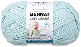 [Home] Bernat Baby Blanket Yarn - (6) Super Bulky Gauge, Seafoam, Big Ball
