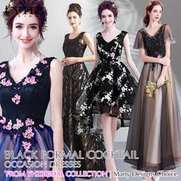 Black Formal Gown Cocktail Party Dress Mermaid Evening Dress Prom Dress Lace Matte satin Dresses