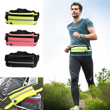 SG Waterproof Running Waist Pouch Hiking Sport Bum Bag Travel Money Phone Waist Belt Zip Pouch