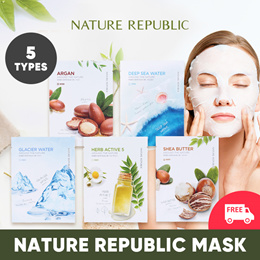 [BUNDLE OF 10] (LOWEST PRICE) NATURE REPUBLIC MASK SHEET_5 CHOICES