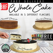 [ BHF ] 1KG Freshly Baked Cakes 5 Different Flavor To Choose Cheese Cake Fudge cake