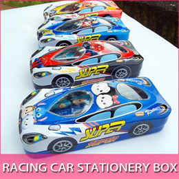 🧰 Racing Car Pencil Box 6pcs stationery school Student Kids Goodie Bag Party Gift Avenger