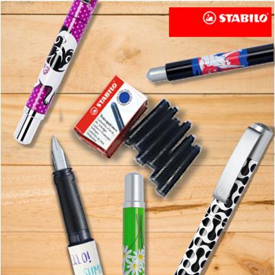 ce3b03c5e9ce [Buy 36 ink cartridges get FREE fountain pen!!] STABILO Fountain Pens 36 ink  Cartridges: 29 sold: Rating: 5: Free: S$19.90
