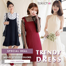 TOKICHOI - Special Deal! Trendy Dresses Multi Colors/Styles/Women/Girl/Ladies Clothing-Free Shipping