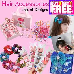 Korean Hair Accessories / Hair Clips / Hair Pins / Hair Ties Rubber Bands