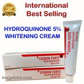 Eqinon Forte Hydroquinone 5% Skin Bleaching Cream for Melasma and Hyperpigmentation