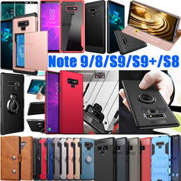 Phone Case 3D Curve Tempered Glass for Samsung Galaxy Note 9 S9 S9 Plus S8 S8+ S7 S6 Note8 A8