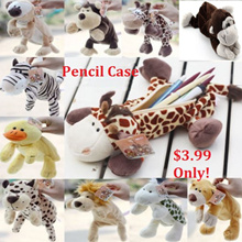 Animal Pencil Case♥Cosmetic case♥Character casing ♥Plushie♥Kids gift♥Goodie Bag♥Children Pencil case