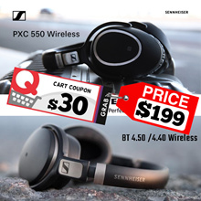 GSS Promo! Sennheiser HD 4.5 BTNC Wireless Bluetooth Headphones | Momentum In-Ear Wireless