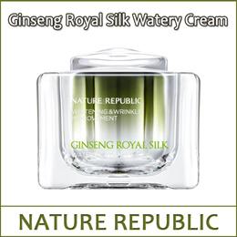 [NATUREREPUBLIC] ⓢ Ginseng Royal Silk Watery Cream 60ml / Whitening and Wrinkle-Improvement