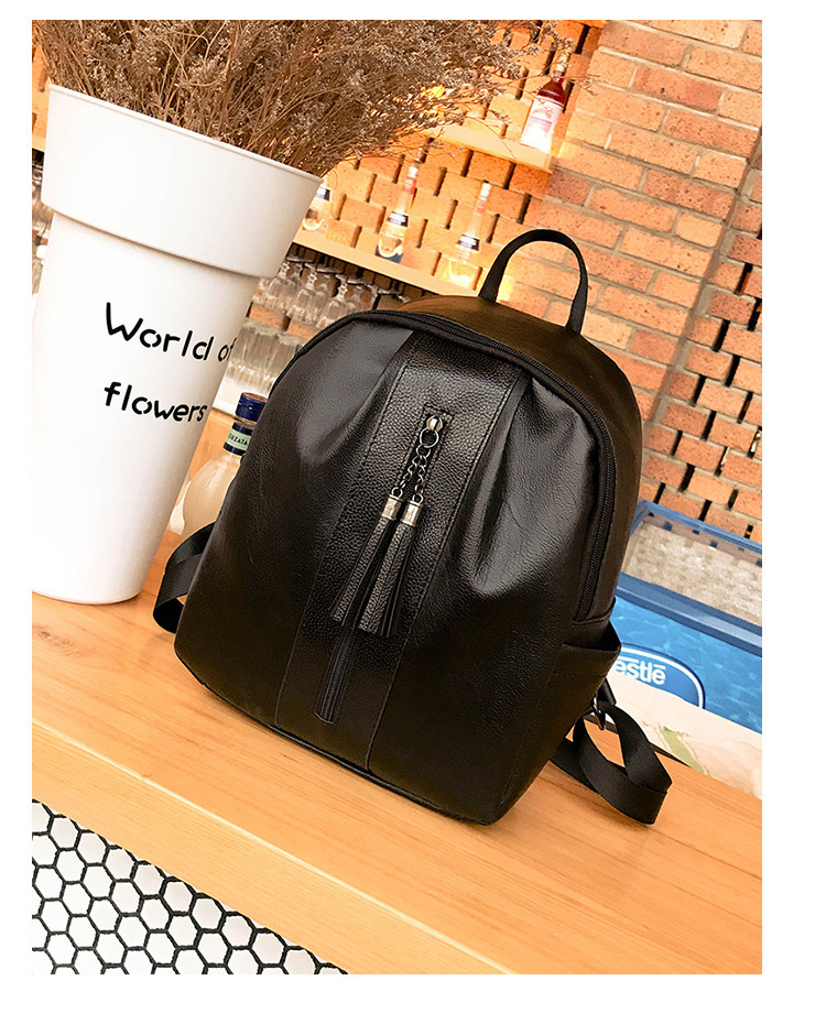actual size. prev next. Women PU Backpack korean style ... 6634a3e0c19c6