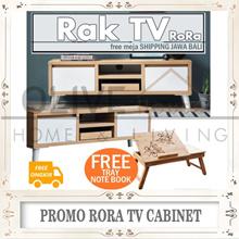 FREE SHIPPING/FREE MEJA LAPTOP[RANDOM] Rora 1000/1200/1500 Tv Cabinet