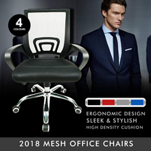 ★2018 MESH Office Chairs ★Gaming Chair ★Performance ★Ergonomic ★Nylon ★Aluminium ★Chrome