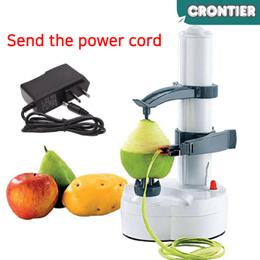 [CRONTIER] Multifunctional automatic electric potato apple fruit peeling machine peeler