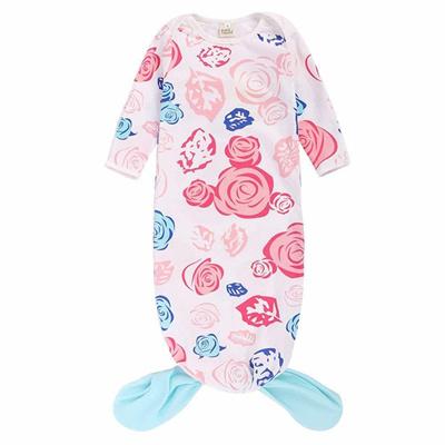 2b7d33103226 Qoo10 - KIDS TALES Baby Sleeping Bag Floral Mermaid Tail Infant ...