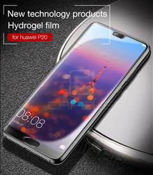Hydrogel film Soft Clear Full Screen Protector for Huawei P20 P20 Pro Huawei Mate 10 Mate 10 Pro