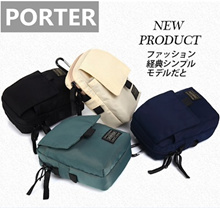 【JAPAN PORTER】2018 NEW PRODUCT men women MESSENGER BAGS SMALL BAG POUCH IPHONE BAG