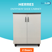 【HERRES】2 Door Shoe Cabinet/Closet Shoe Organizer/Shoe Storage/Shoe Cabinet with Doors/Shoe Rack