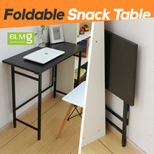 Folding Snack Table/100cm/Compact Desk/Student Desk/Dining table/Furniture/Table