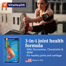VitaHealth Arthrozan Glucosamine GC+MSM 60s *Supports joint mobility and flexibility