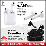 HUAWEI FreeBuds / APPLE Airpods Stereo Bluetooth Headset 1 Year Local Warranty