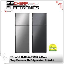 Hitachi R-H350P7MS 2-Door Top Freezer Refrigerator (290L)