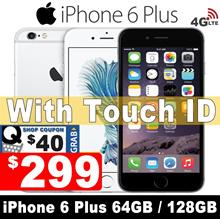 iPhone 6 Plus 64GB 128GB | All Good Working | 99% New | Unlocked | Refurbished set