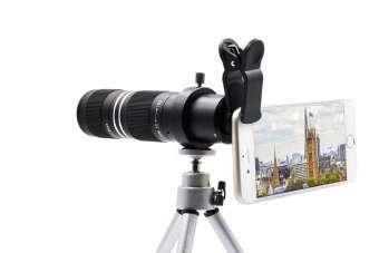 Qoo telephoto lens mobile devices