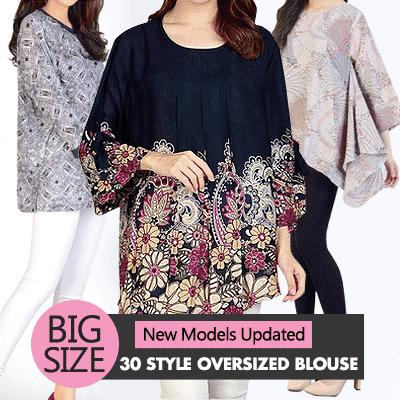 [16/03] Women Big Size Blouse - Plus Size - Best Seller -