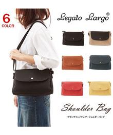 LEGATO LARGO Multiple Storage Flap Shoulder Bag  LU-A0581 Multiple Colours available