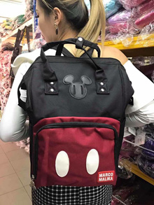 【Ready stock + fast shipping】NEW ANELLO MICKY MOUSE BACKPACK ready stock **7 colour