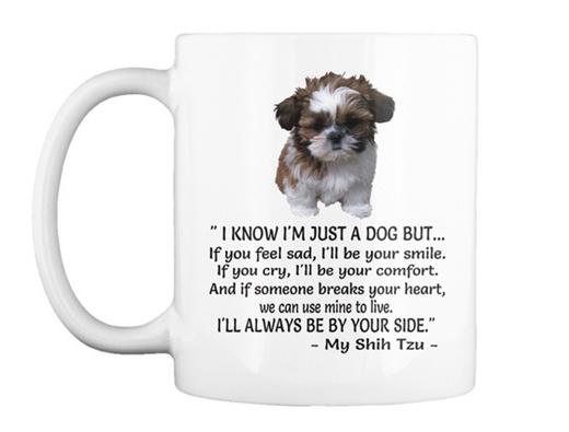 We Love Dogs Shih Tzu Gift Coffee Mug