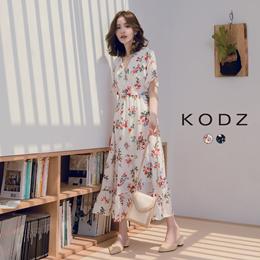 KODZ - Full Version of the Flower Waist Cake Dress -190074