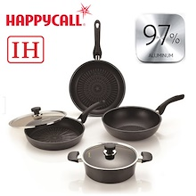 Happy Call Primium IH Frying Pan 4 Set / ceramic wok pans / cooking pot