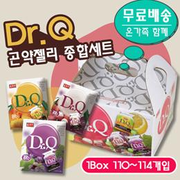 【台灣】Dr. Q蒟蒻果凍-綜合水果口味禮盒(2200g/盒/每盒約100-114小包入)