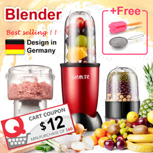⚡Free 2 Gifts⚡Blend Ice❤BAP FREE❤Nutri Blender Multifunction Smoothie Juicer/Mixer/Meat maker