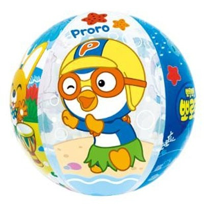 Inflatable beach ball 50cm blow up toy novelty party bag swimming pool toy