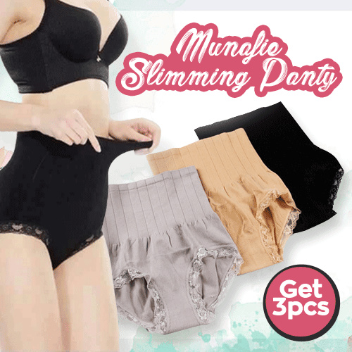 GET 3 PCS MUNAFIE SLIMMING PANTS ALL SIZE N GOOD QUALITY Deals for only Rp40.000 instead of Rp40.000